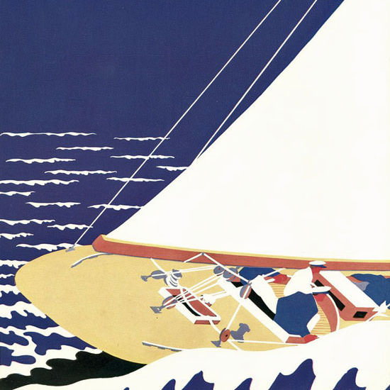 S Liam Dunne The New Yorker 1932_08_27 Copyright crop | Best of 1930s Ad and Cover Art