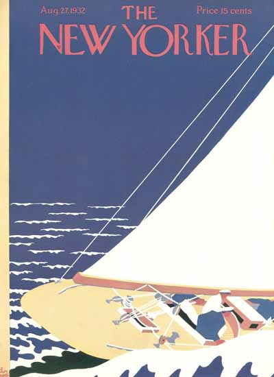 S Liam Dunne The New Yorker 1932_08_27 Copyright | The New Yorker Graphic Art Covers 1925-1945