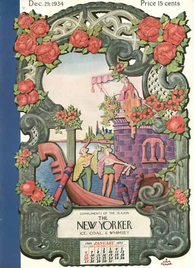 S Liam Dunne The New Yorker 1934_12_29 Copyright | The New Yorker Graphic Art Covers 1925-1945