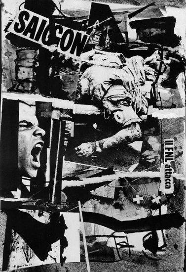 Saigon Vietnam War Protest Italy Italia | Vintage War Propaganda Posters 1891-1970