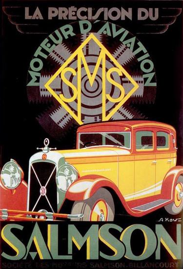 Salmson 1934 La Precision Du Moteur D Aviation | Vintage Cars 1891-1970
