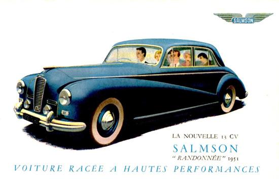 Salmson Randonnee France 1951 | Vintage Cars 1891-1970