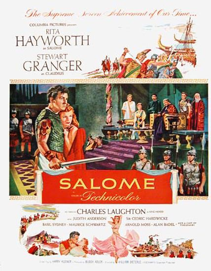 Salome Movie 1953 Rita Hayworth St Granger | Sex Appeal Vintage Ads and Covers 1891-1970