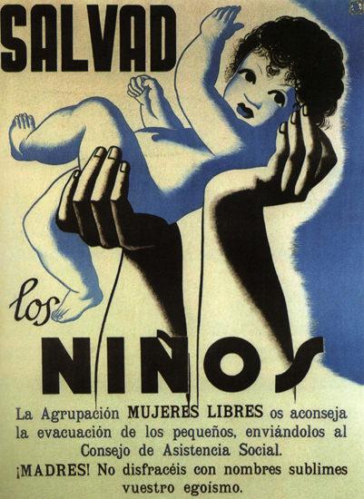 Salvad Los Ninos Spain Espana | Vintage Ad and Cover Art 1891-1970