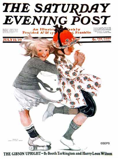 Sarah Stilwell-Weber Cover Artist Saturday Evening Post 1919_07_12 | The Saturday Evening Post Graphic Art Covers 1892-1930
