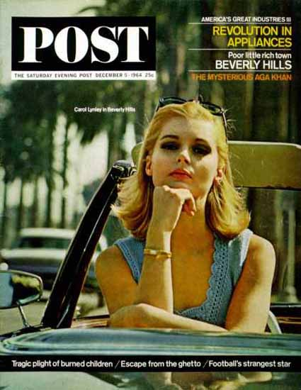 Saturday Evening Post Copyright 1964 Carol Lynley Beverly | Sex Appeal Vintage Ads and Covers 1891-1970