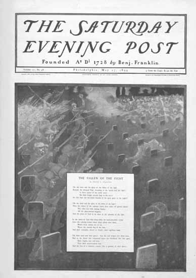 Saturday Evening Post Cover 1899_05_27 | The Saturday Evening Post Graphic Art Covers 1892-1930