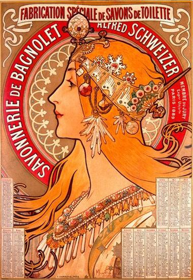 Savonnerie De Bagnolet Alfred Schweizer | Sex Appeal Vintage Ads and Covers 1891-1970