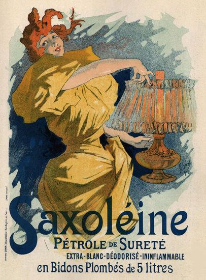 Saxoleine Petrole De Surere Art Nouveau B | Sex Appeal Vintage Ads and Covers 1891-1970