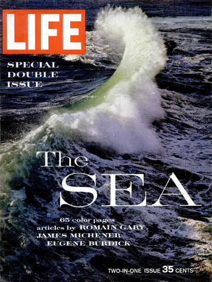 Sea Special Double Issue 21 Dec 1962 Copyright Life Magazine | Life Magazine Color Photo Covers 1937-1970