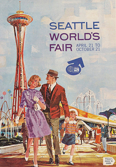 Seattle Worlds Fair1962 | Vintage Ad and Cover Art 1891-1970