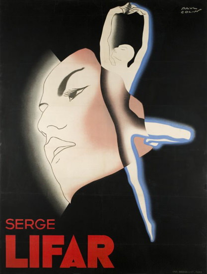Serge Lifar 1935 | Sex Appeal Vintage Ads and Covers 1891-1970