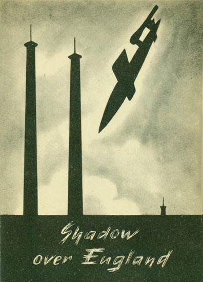 Shadow Over England | Vintage War Propaganda Posters 1891-1970
