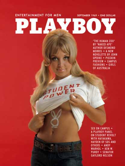 Shay Knuth Playboy Magazine 1969-09 Copyright Sex Appeal | Sex Appeal Vintage Ads and Covers 1891-1970