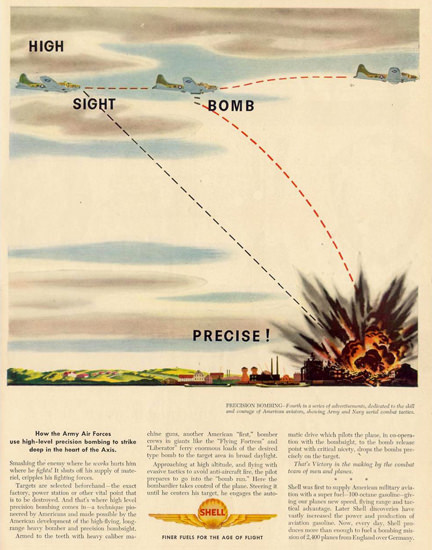 Shell One Two Three And Out Goes He 1944 | Vintage War Propaganda Posters 1891-1970