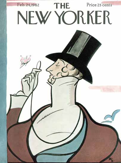 Signature Display Typeface of The New Yorker 1962_02_24 Copyright | The New Yorker Graphic Art Covers 1946-1970