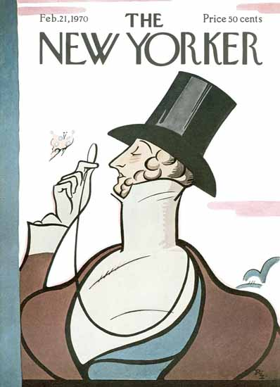 Signature Display Typeface of The New Yorker 1970_02_21 Copyright | The New Yorker Graphic Art Covers 1946-1970