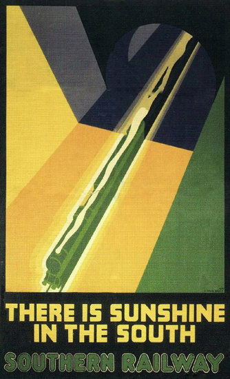 Southern Railway Sunshine In The South 1930 | Vintage Travel Posters 1891-1970