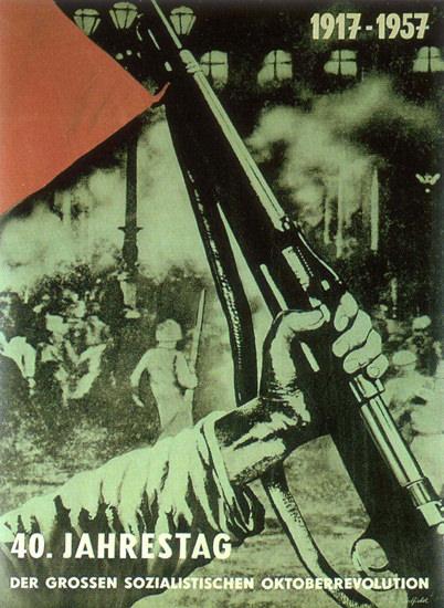 Sozialistische Oktoberrevolution 1957 Socialist | Vintage War Propaganda Posters 1891-1970