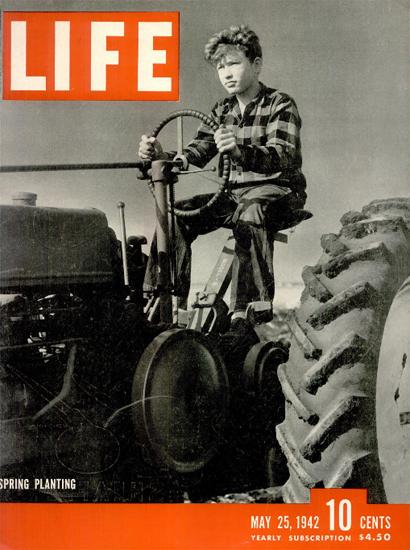 Spring Planting 25 May 1942 Copyright Life Magazine | Life Magazine BW Photo Covers 1936-1970