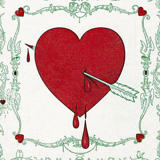 St Valentine Life Humor Magazine 1901-02-14 Copyright crop | Best of Vintage Cover Art 1900-1970