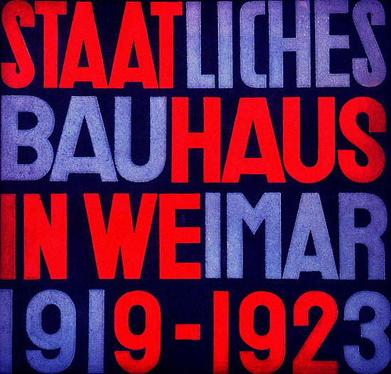 Staatliches Bauhaus In Weimar 1923 | Vintage Ad and Cover Art 1891-1970