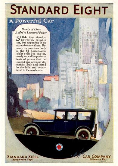Standard Eight 83 HP 1919 Pittsburg | Vintage Cars 1891-1970