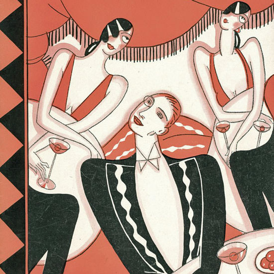 Stanley W Reynolds The New Yorker 1925_11_21 Copyright crop | Best of 1920s Ad and Cover Art