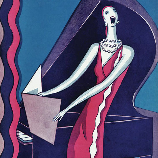 Stanley W Reynolds The New Yorker 1926_01_16 Copyright crop | Best of 1920s Ad and Cover Art