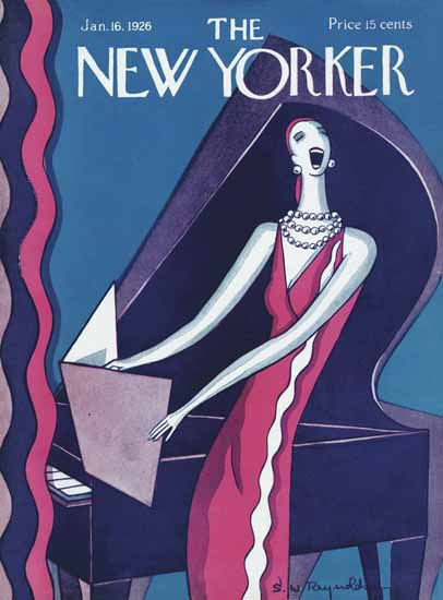 Stanley W Reynolds The New Yorker 1926_01_16 Copyright   The New Yorker Graphic Art Covers 1925-1945