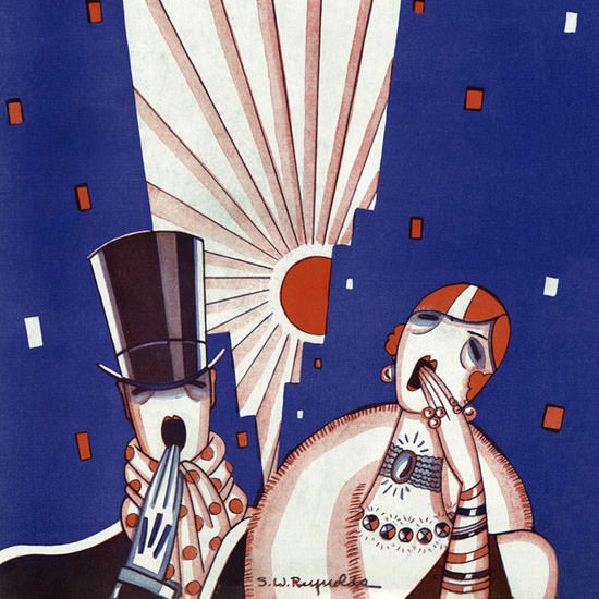 Stanley W Reynolds The New Yorker 1926_03_06 Copyright crop | Best of 1920s Ad and Cover Art
