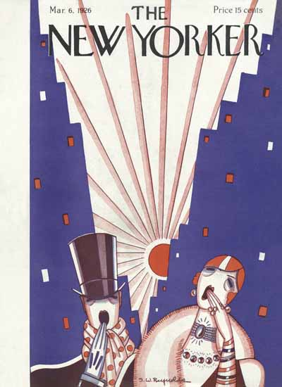 Stanley W Reynolds The New Yorker 1926_03_06 Copyright | The New Yorker Graphic Art Covers 1925-1945
