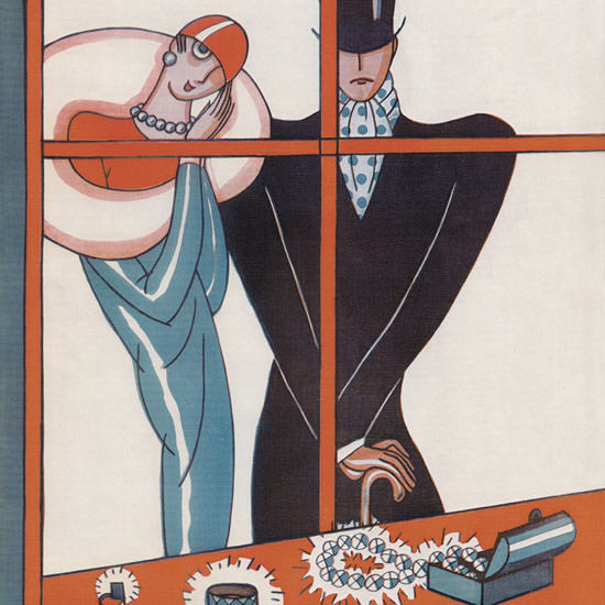 Stanley W Reynolds The New Yorker 1926_03_20 Copyright crop | Best of 1920s Ad and Cover Art
