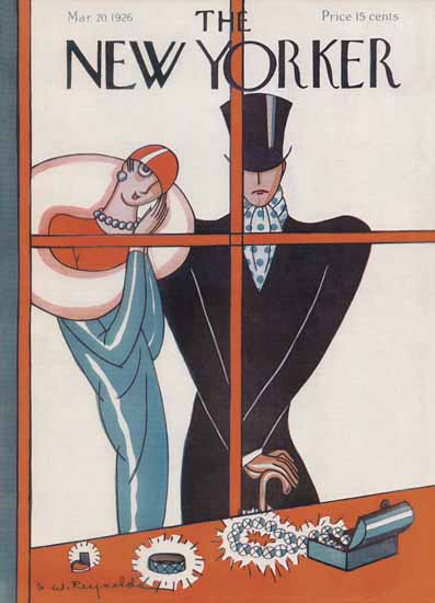Stanley W Reynolds The New Yorker 1926_03_20 Copyright | The New Yorker Graphic Art Covers 1925-1945
