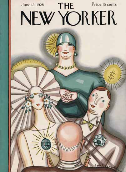 Stanley W Reynolds The New Yorker 1926_06_12 Copyright | The New Yorker Graphic Art Covers 1925-1945