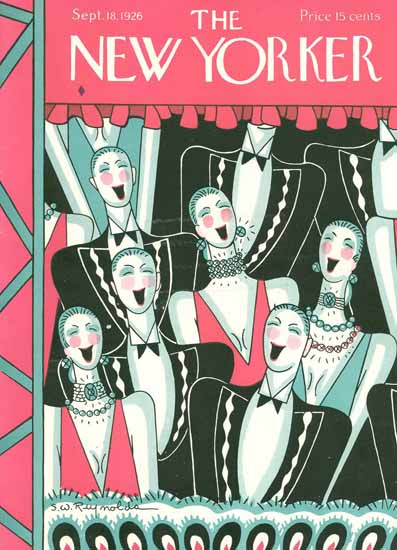 Stanley W Reynolds The New Yorker 1926_09_18 Copyright | The New Yorker Graphic Art Covers 1925-1945