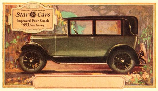 Star Cars Four Coach 1927 Lansing | Vintage Cars 1891-1970