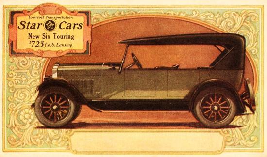 Star Cars Six Touring 1927 Lansing | Vintage Cars 1891-1970