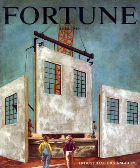 Stephen Greene Fortune Magazine June 1949 Copyright | Fortune Magazine Graphic Art Covers 1930-1959