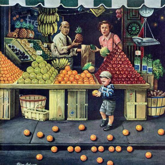 Stevan Dohanos Saturday Evening Post 1953_09_19 Copyright crop | Best of Vintage Cover Art 1900-1970