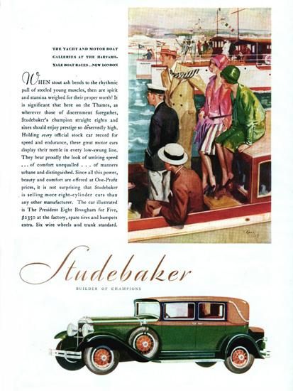 Studebaker 1929 Harvard-Yale Champions | Vintage Cars 1891-1970