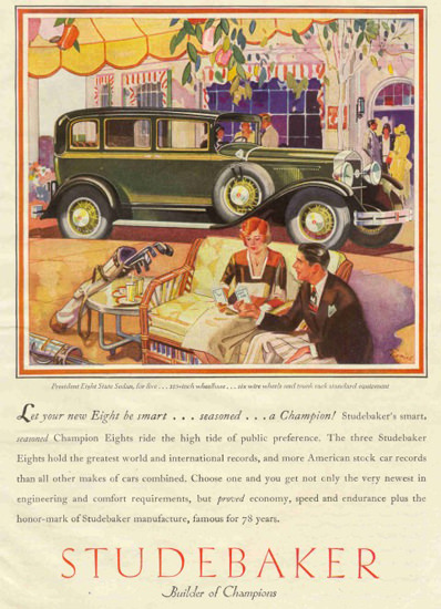 Studebaker 1930 Spring Champions | Vintage Cars 1891-1970