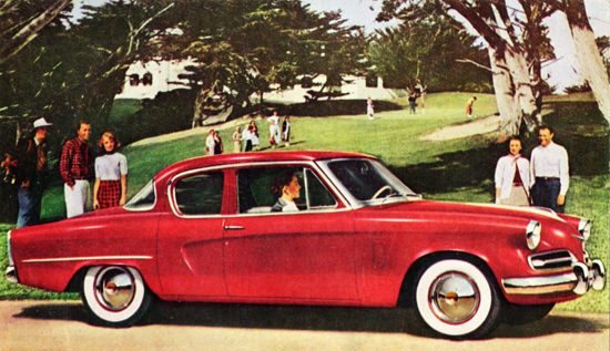 Studebaker Champion Regal Sedan 1953 | Vintage Cars 1891-1970