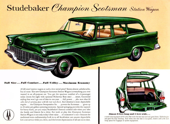 Studebaker Champion Scotsman Station 1957 | Vintage Cars 1891-1970
