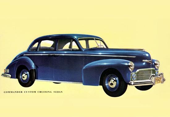 Studebaker Commander Cruising Sedan 1942 | Vintage Cars 1891-1970