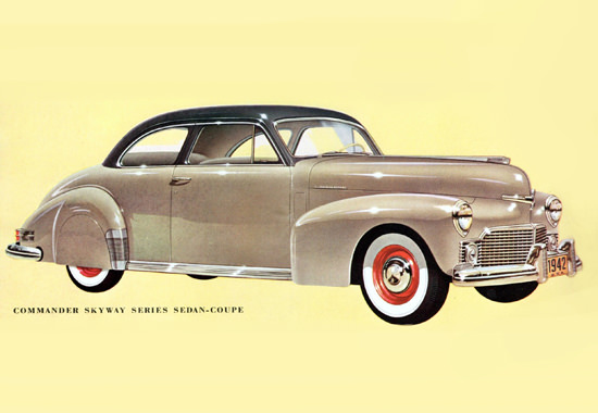 Studebaker Commander Skyway Coupe 1942 | Vintage Cars 1891-1970