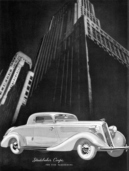 Studebaker Coupe Skyscraper 1935 | Vintage Cars 1891-1970