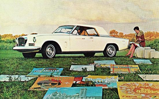Studebaker Gran Turismo Hawk 1963 Travel Ads | Vintage Cars 1891-1970
