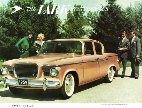 Studebaker Lark 4 Door Sedan 1959 | Vintage Cars 1891-1970
