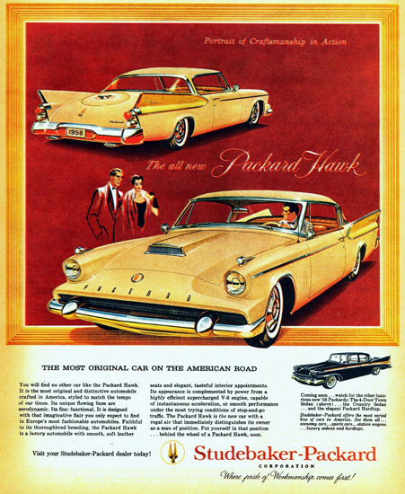 Packard Hawk The Most Original 1958 | Vintage Cars 1891-1970